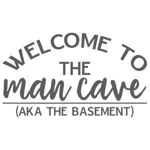 man cave - basement