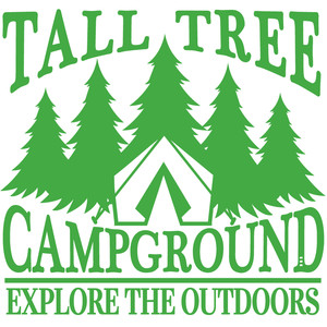 tall tree campground sign