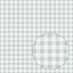 light blue buffalo plaid seamless pattern