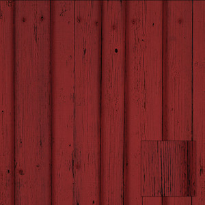 red barn pattern