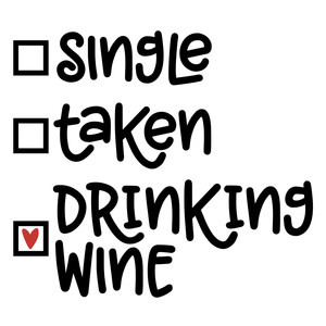 single taken wine