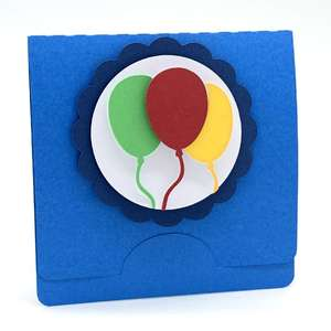 balloons gift card holder