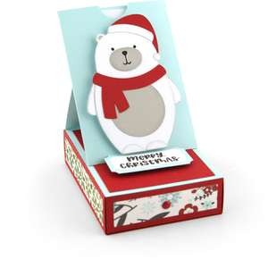 gift card box polar bear