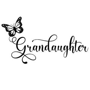 grandaughter butterfly word