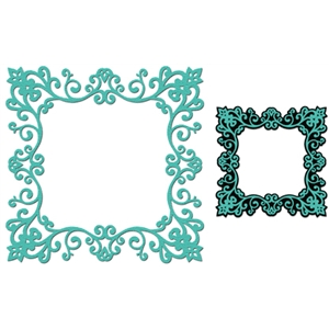 Victorian lace frame part 1