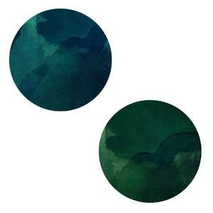 blue green planets