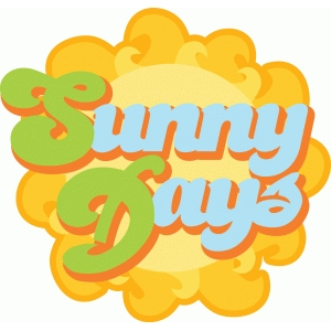 sunny days title