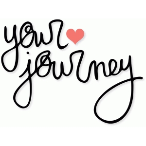'your journey' handwriting