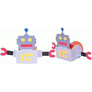 treat holder robot