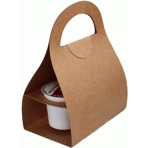coffee cup treat bag