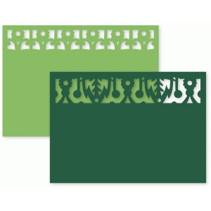 decorative edge cards set