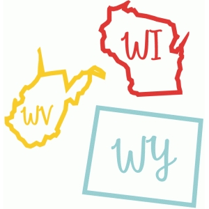 state abbv wv wi wy