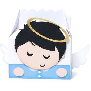 cute boy angel box