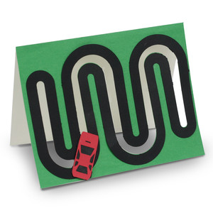 racecar motion card