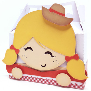 cute hillbilly girl box