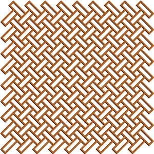 basket weave diag. background