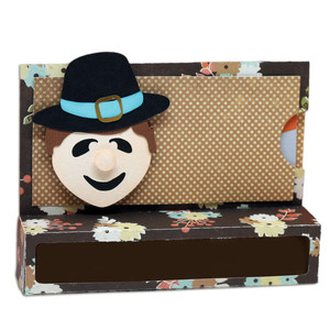 pilgrim boy candy & gift card holder