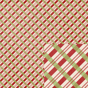 red and green plaid christmas paper