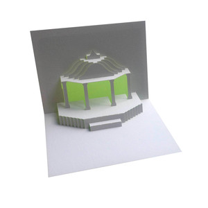 bandstand popup card