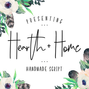 hearth & home font