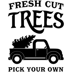 fresh cut trees pick your own