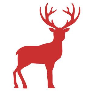 silhouette design store view design 232778 christmas reindeer