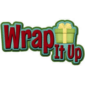 christmas wrap it up title