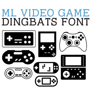 ml video game dingbats