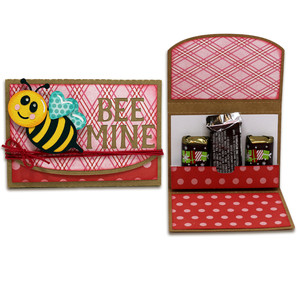bee mine 3 chocolate holder