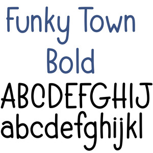 funky town bold