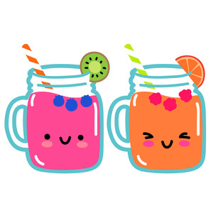 kawaii smoothies