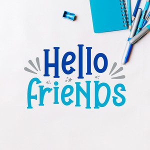 hello friends font