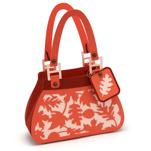 leaves purse