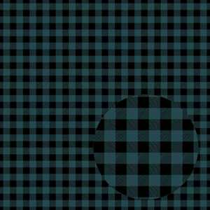 gray blue & black buffalo plaid seamless pattern