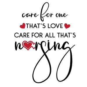 care for all that's nursing