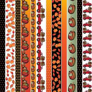 autumn washi borders planner stickers