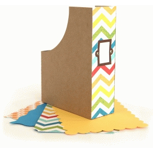 a2 card & envelope magazine holder