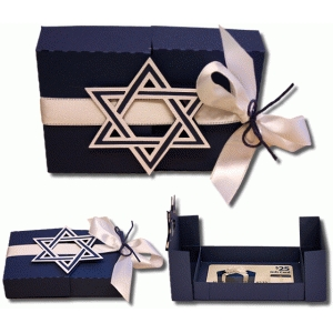 3d hanukkah gift card box
