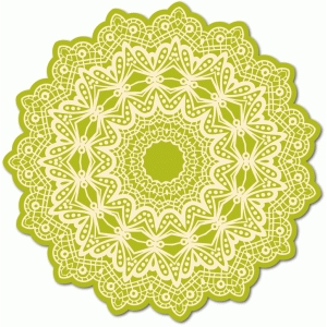 ornate lace doily