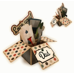 father's day dad stuff box card