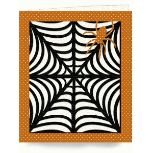 spider layered card
