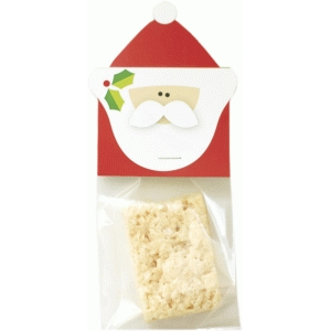 santa treat bag topper