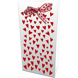 tiny hearts gift bag