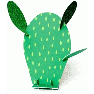 printable 3d prickly pear cactus