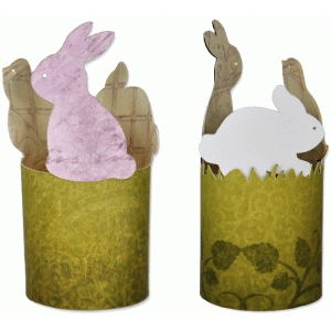 easter critters votive wrap