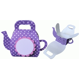 teapot purse favor box
