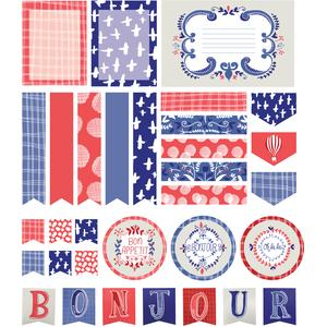 french inspired planner stickers