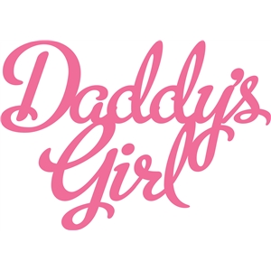 'daddy's girl' phrase