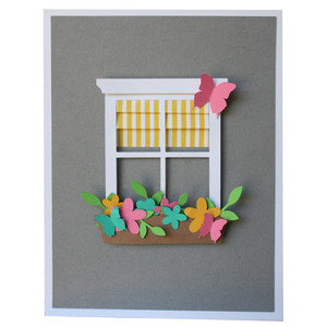 window pane a2 card