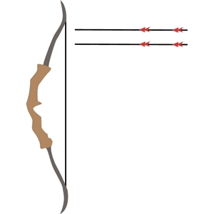 hunting bows arrows